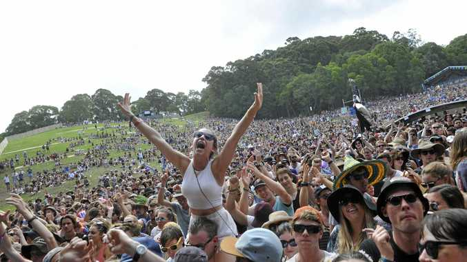 Falls Festival will run at North Byron Parklands from December 31 to January 2.