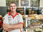 Steve Sarah, owner of Top of the Bay Bakery received the most votes in our online shout-out for the best baker in town. Steve says his pies are the biggest drawcard. INSET: Top of the Bay Bakery, on the corner of Bideford St and Boat Harbour Drive.