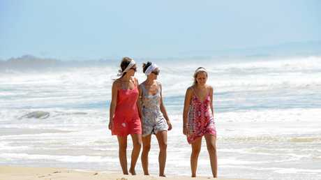 English, German and Kiwi holidaymakers are most common on the Coffs Coast.