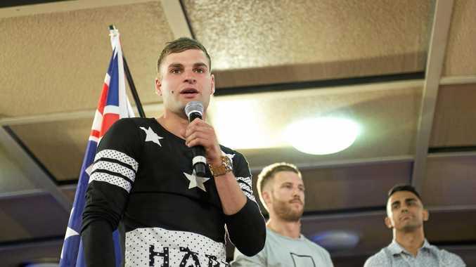 PREPARING: Toowoomba boxer Brent Rice ahead of his Australian title shot.