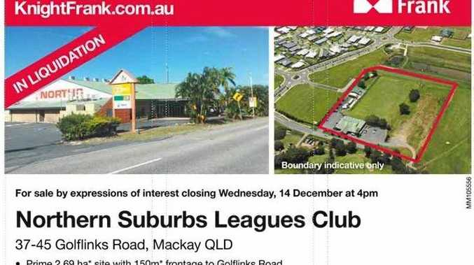 Northern Suburbs Leagues Club is on the market.