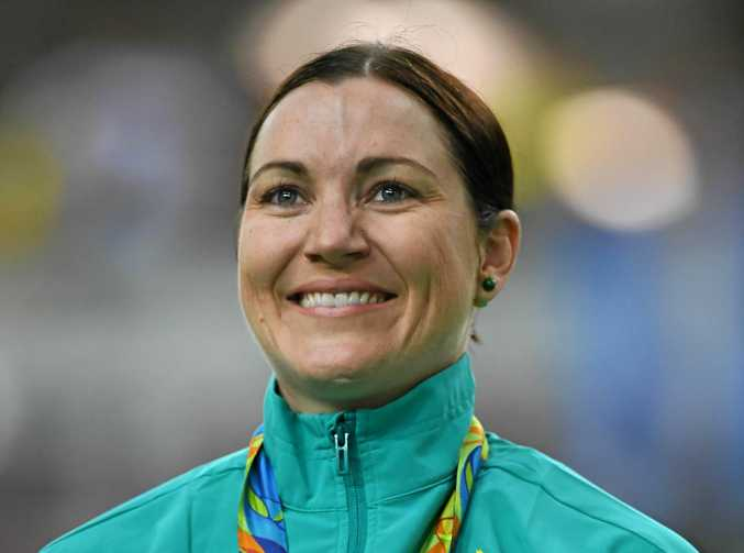 Australia's Anna Meares will receive the Keys to the City.