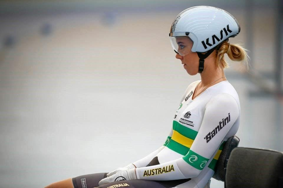 Brooke Tucker who is a rising star on the international competition scene was awarded the U19 Track Cyclist - Women award at Cycling Queensland's annual 42nd Cyclist of the Year awards ceremony on Saturday.