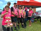 PHOTOS: Tradies put on pink for cancer charity