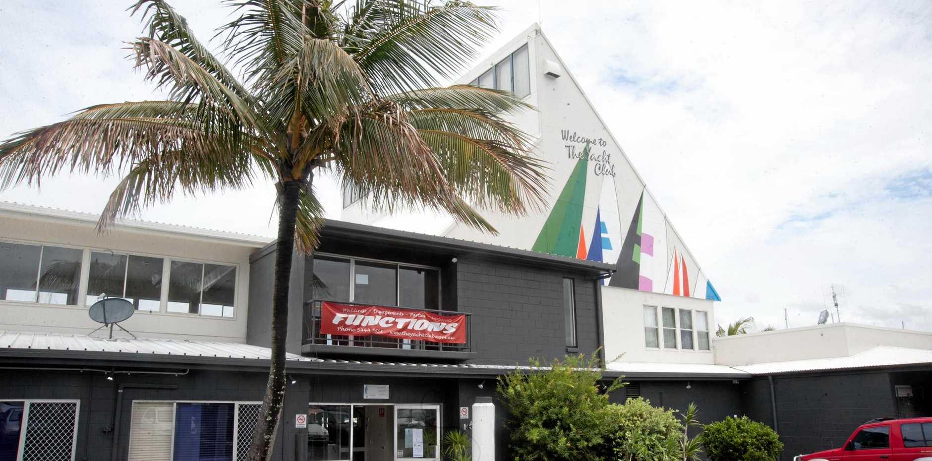 FOR SALE: The Yacht Club restaurant at Mooloolaba.