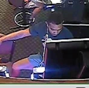 Police would like to speak to this man about pokie winnings being taken from a Bowen Hotel.