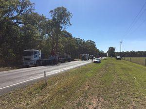 UPDATE: Motorcylist killed in crash with truck