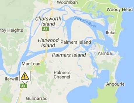 LIve Traffic NSW reported an accident on the Pacific Highway near Cameron St, Maclean at 6.28am on Wednesday, 16th November, 2016.