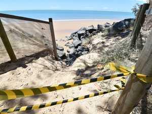 Shelly Beach erosion
