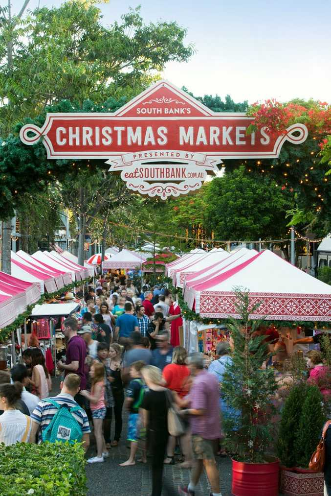 Be sure to check out the Christmas Markets at South Bank.