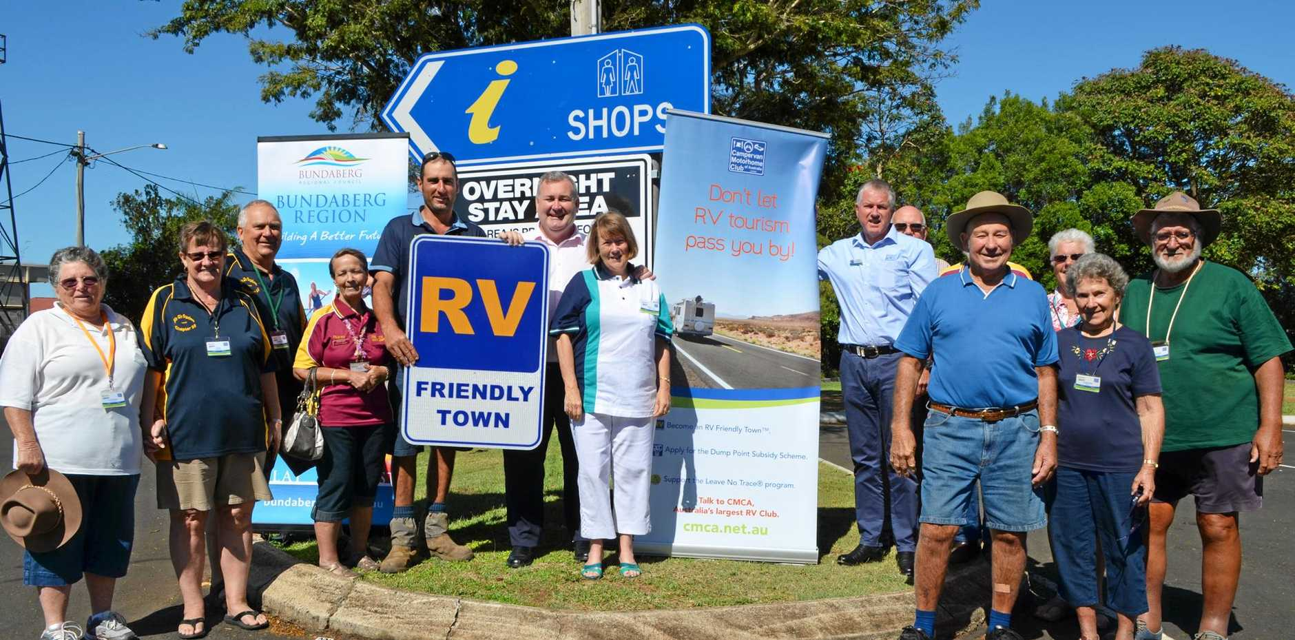RV FRIENDLY TOWN: Childers community welcomes the new RV park.