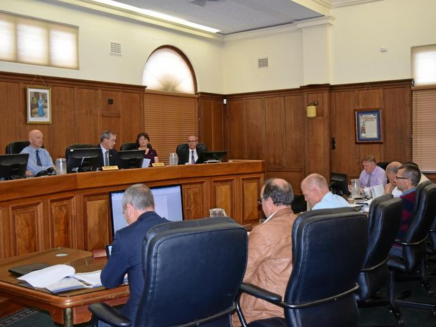 Gympie Regional Council meeting for the 2016 budget.