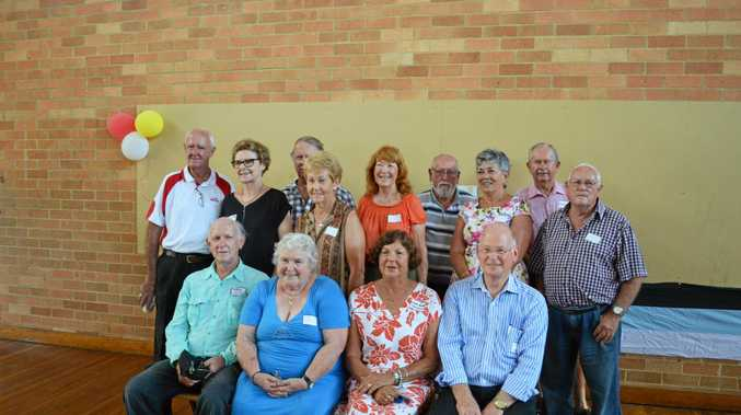 CLASS ACT: Former students from across the years met at the weekend to farewell Ballina High.