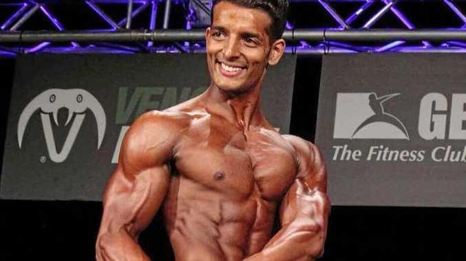 RESPONDING: Bodybuilder Jay Acharya finds criticism