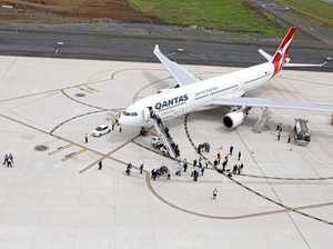 Wellcamp passenger flights miss forecast in 1st year