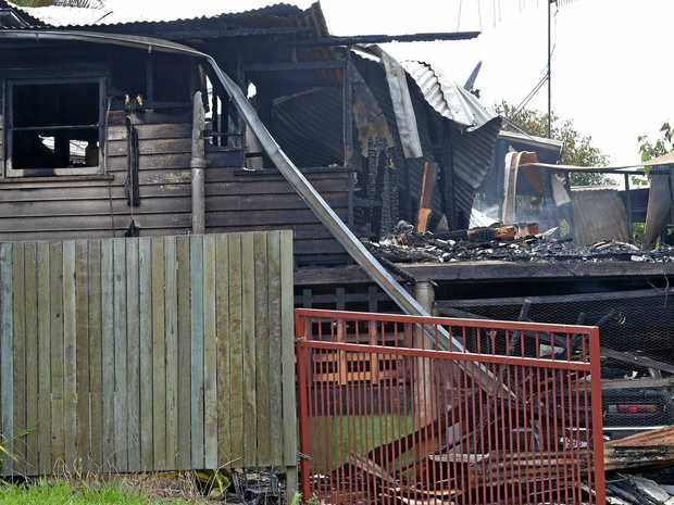 A man accused of burning down a Nambour home has had his matters mentioned in court.