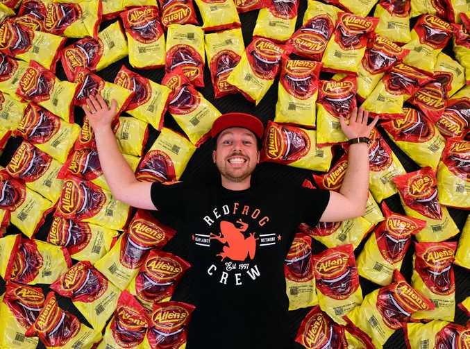 Red Frogs Sunshine Coast coordinator Dan Terry is preparing to help schoolies enjoy their Sunshine Coast experience.