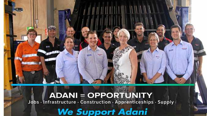 Rockhampton Mayor Margaret Strelow with Coxons Radiator Service Operations Manager Joel Heazlewood and his Rockhampton team Daniel Stephens, Andrew Osborne, Nathan Wehlow, Ryan Swadling, Cameron Boon, Michael Nicholson, Matthew Krause, Mitch Morsch & Gary Heazlewood, Kelli Luck, Joel Heazlewood, Julie Heazlewood & Cameron Heazlewood.
