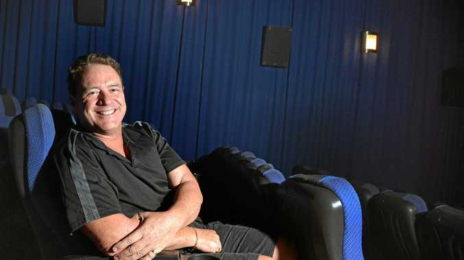 Gympie Cinemas owner Laurence Duggan hopes to see the community continue to support Gympie's businesses.