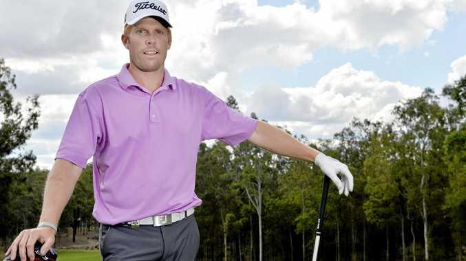 OPEN SEASON: Gatton golfer Andrew Dodt.