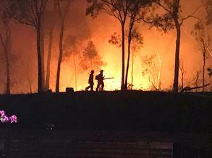 PHOTOS: Sun Valley blaze breaks out overnight