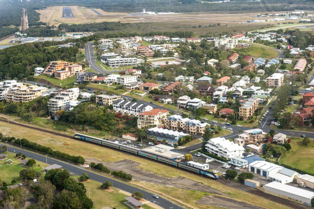 Development is proposed for the railway land along Jordan Esplanade.