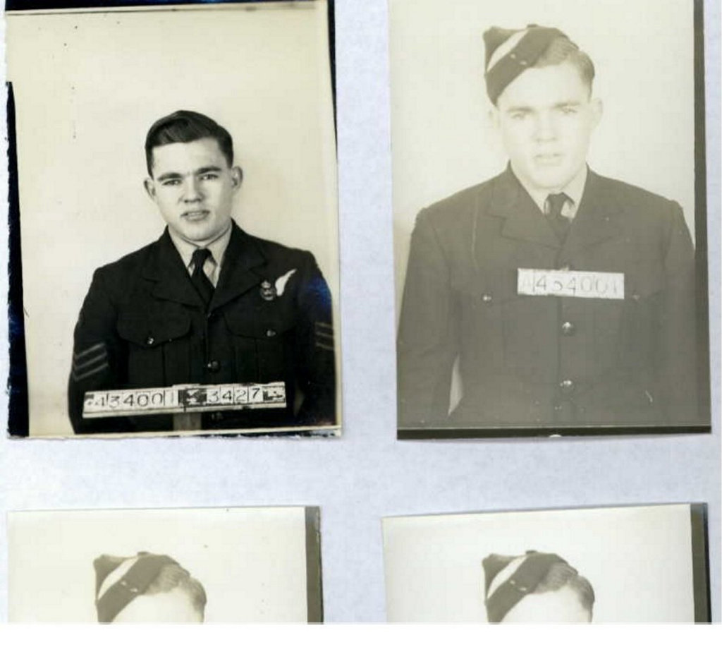 FINALLY RECOVERED: Toowoomba man and Flight Sergeant Allan Olsen's remains have been found in the wreckage of the RAF Lancaster, which was shot down over Belgium in 1944.