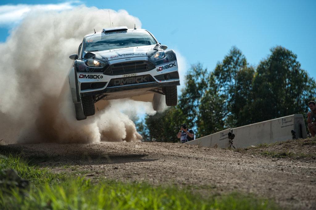 DMACK world rally team Driver Ott Tanak on the Wedding Bells Shakedown track. 17 NOV 2016