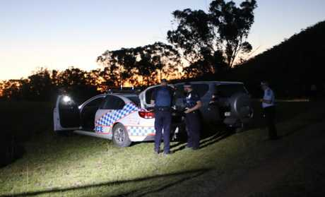 SHOOT OUT: Police were on scene at a Freestone property late yesterday afternoon and into the evening where a man threatening police and himself with a shotgun was reportedly shot by police.