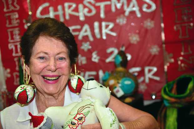CHRISTMAS CHEER: Jenny Harris of the Craft Cottage is getting excited for Buderim's annual Christmas Fair.