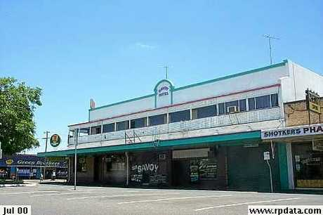 The old Savoy Hotel on William St will be auctioned this weekend.