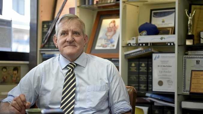 Former federal MP Ian Macfarlane will take on his new role as QRC chief executive today.