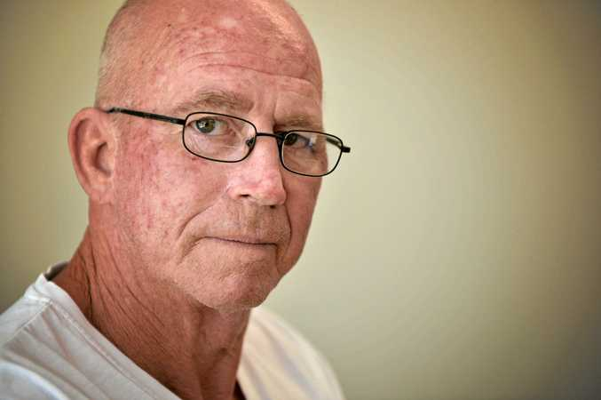 FORGOTTEN: Curra resident Ken Baldwin says Gympie Regional Council sometimes seems to forget his community exists.
