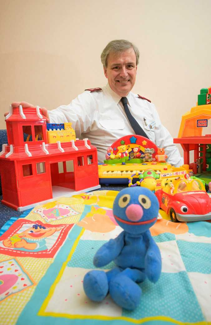 Major Colin Young of the Grafton Salvation Army is launching their annual Christmas Appeal.