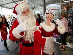 Mini kids' festival at Plaza for Santa's arrival tonight