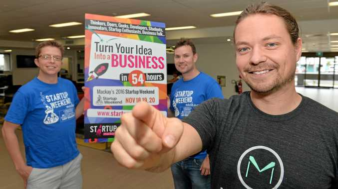 Joel Cox, Dennis Murphy and Daniel Johnson want you to share your ideas at a Start Up Weekend.