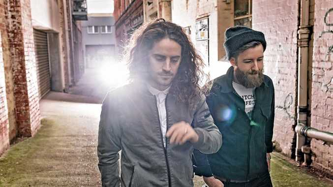 FAVOURITES: Triple J favourites Holy Holy are heading for the Coast.