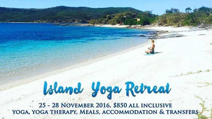 Rose Hawkins is planning a yoga retreat on Pumpkin Island.