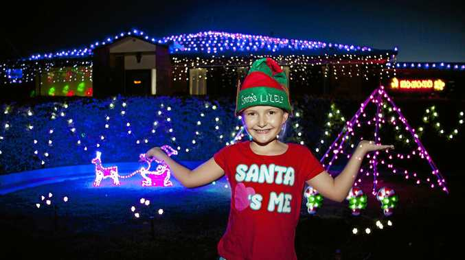 TIS THE SEASON: Isaacs annual Christmas lights competition is now open for entries. Pictured, previous Best Residential winner, Moranbah.