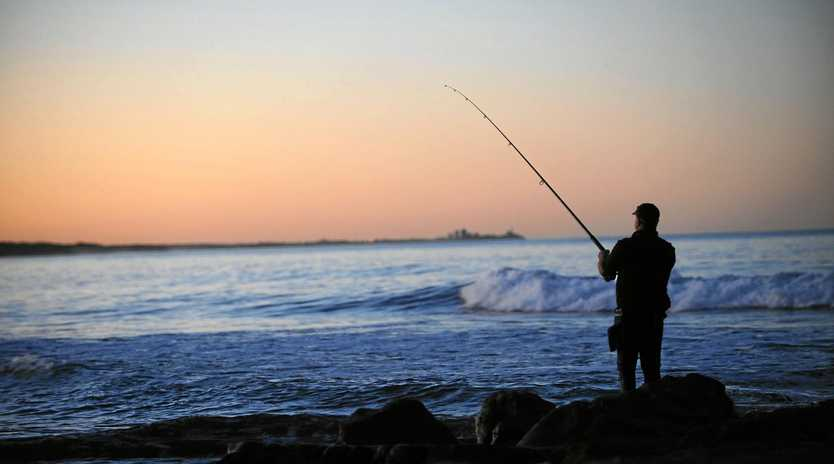 BEAUTIFUL: Rock fishing offers beauty and tranquillity ... as well as good fish.