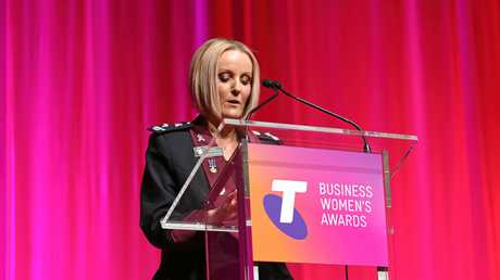 Rockhampton police inspector Virginia Nelson won the Public Sector and Academia Award at the 2016 Queensland Telstra Business Women's Awards last night.Photo Contributed