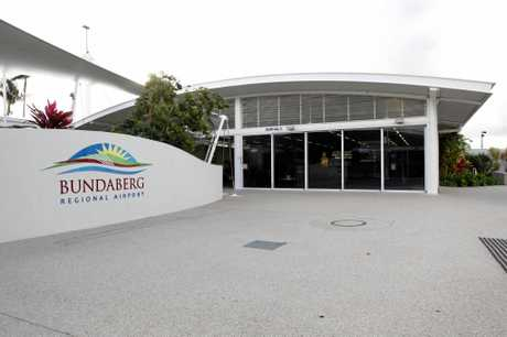 MISSED FLIGHT: The man was not permitted to reboard the aircraft at Bundaberg Airport.