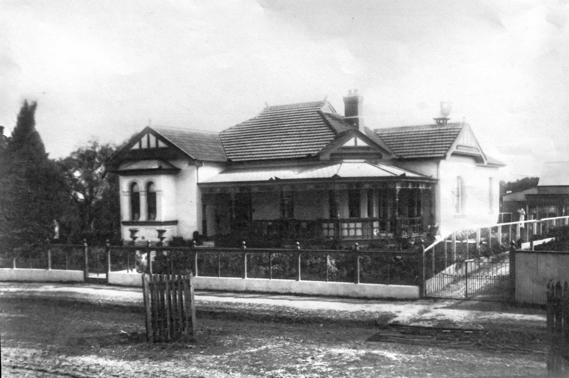 The original Schaeffer House.