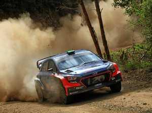 Rally drivers rev up