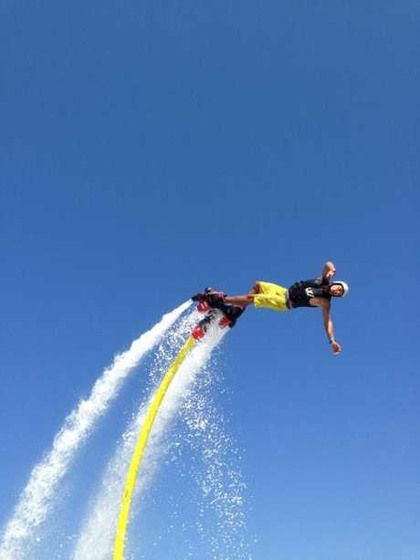 Jetpack Adventures are performing in Toowoomba today.