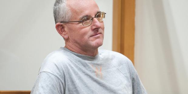 Martin Cranswick Schofield in court.