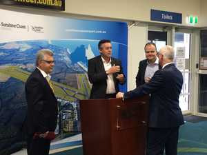 Sunshine Coast Airport loan announced