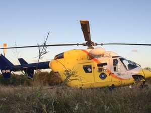 Holiday shock for family as girl airlifted from Coast