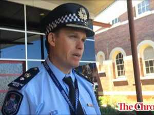 Police media conference