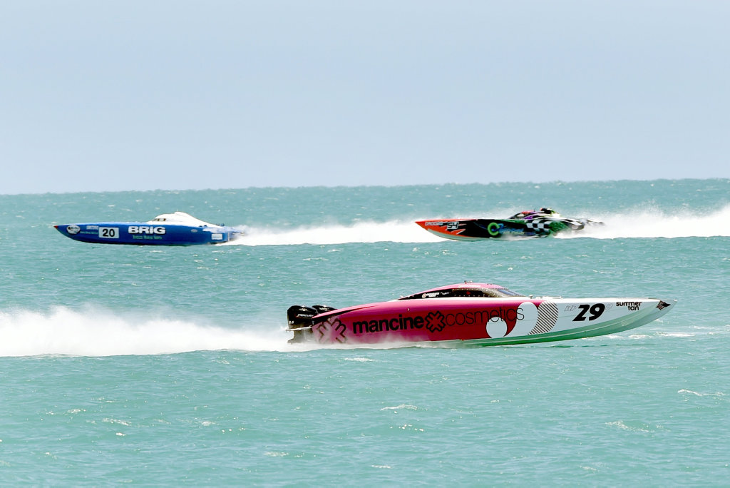 SUPERBOATS RACE: On Saturday and Sunday in Hervey Bay. Head down to the esplanade to see all the action.